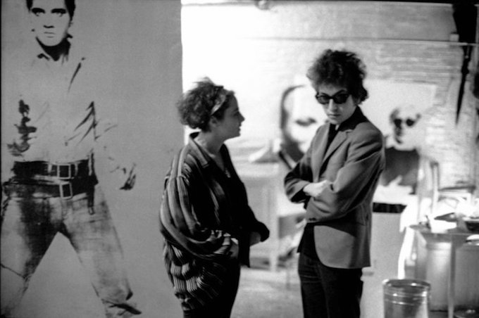 Barbara Rubin and Bob Dylan